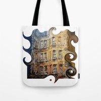 London facade Tote Bag