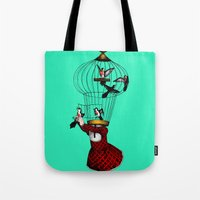 the cage Tote Bag