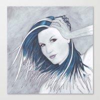 Rhapsody in Ice Canvas Print