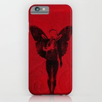 iPhone & iPod Case featuring butterfly man v 2 by frederic levy-hadida