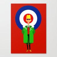 The Mod Canvas Print