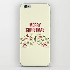 Merry Christmas iPhone & iPod Skin