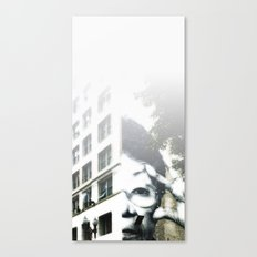 Homage to JR Canvas Print