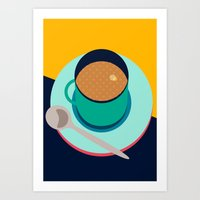 Cup of Tea Art Print