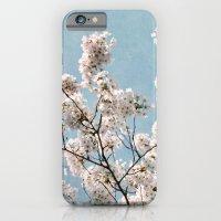 blue sky blossoms iPhone 6 Slim Case
