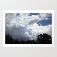 Clouds #2 Art Print