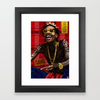 Wiz Khalifa Framed Art Print