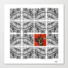 Idioteque mesopotamia Canvas Print