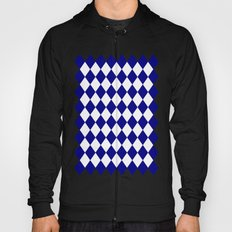 Diamonds (Navy Blue/White) Hoody