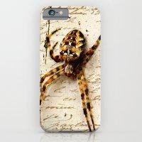 iPhone & iPod Case featuring Spider Letter by YM_Art by Yv✿n / aka Yanieck Mariani