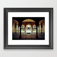 Temple Of Ozoo Framed Art Print