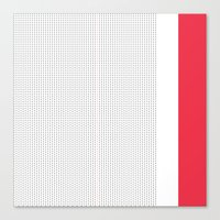 Dotted 185U Canvas Print