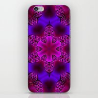 Abstract X Two iPhone & iPod Skin