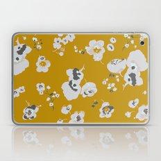 mustard poppies Laptop & iPad Skin