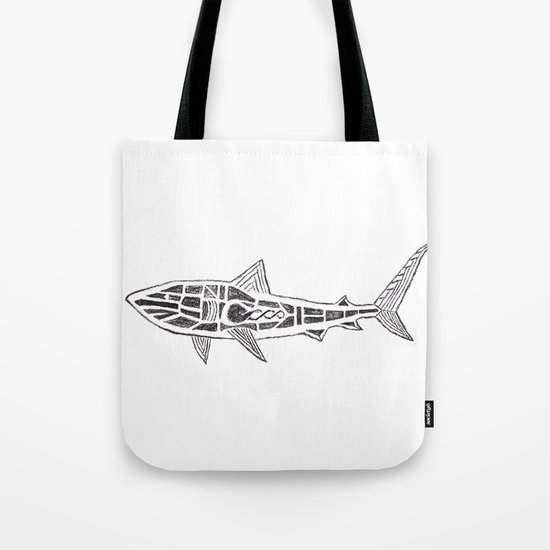 Shark Twist Tote Bag