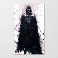 Darth Vader Brushwork By… Canvas Print