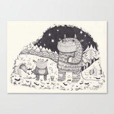 gruffalo Canvas Print