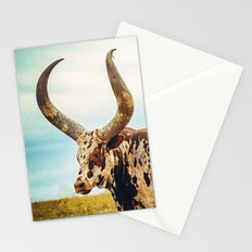 The Texas Longhorn Stationery Cards