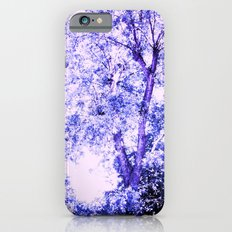 Blue trees iPhone 6s Slim Case