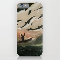 Minke Whale Migration iPhone 6 Slim Case