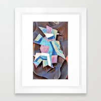 a little bit spanish Framed Art Print