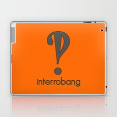 Interrobang, Serif Laptop & iPad Skin