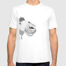 Sheepy Mens Fitted Tee SMALL White
