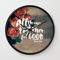 All Things Work Together… Wall Clock