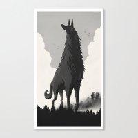 Walking Tall Canvas Print