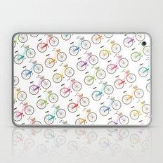 Rainbow Bicycles Laptop & iPad Skin