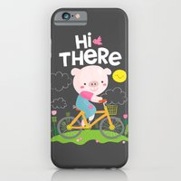 Pig On A Bike iPhone 6 Slim Case