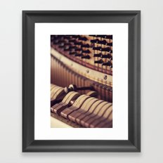 Le Vieux Piano Framed Art Print