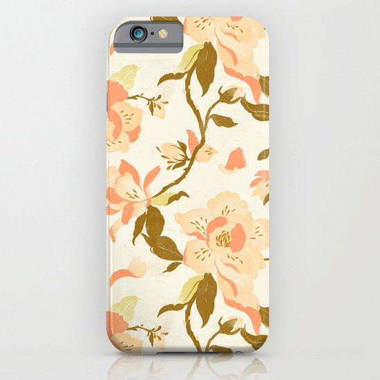 Magnolia Pattern iPhone & iPod Case