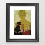 Who Is The Man In The Bo… Framed Art Print