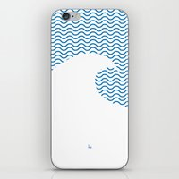 Wavy Wave iPhone & iPod Skin