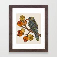 Bravebird Framed Art Print