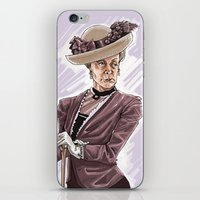 Maggie Smith iPhone & iPod Skin