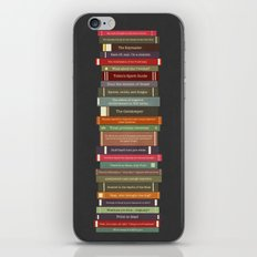 Ghostbusters stacked books iPhone & iPod Skin