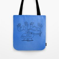 HELLOcopter Tote Bag