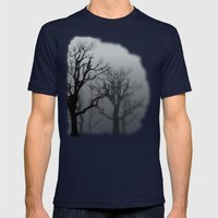 Unclear Mens Fitted Tee Navy SMALL