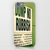 Rubbish iPhone 6 Slim Case