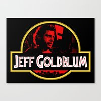 JURASSIC GOLDBLUM Canvas Print