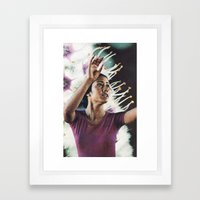 I'm Waking Up to Us Framed Art Print
