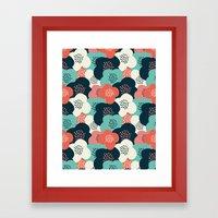 FlowerGarden Framed Art Print