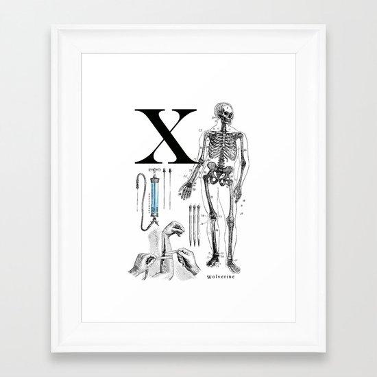ET-Wolverine Framed Art Print