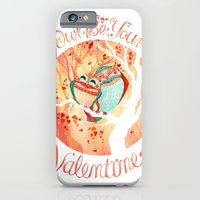 iPhone & iPod Case featuring Owlentine by Anne Lambelet