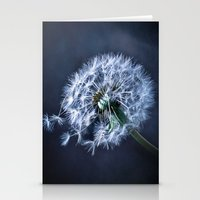 Dandelion Blues Stationery Cards