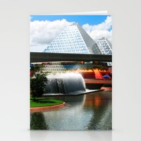 Epcot at Disney World Stationery Cards