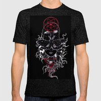 Minds Desire Inverse Mens Fitted Tee Tri-Black SMALL