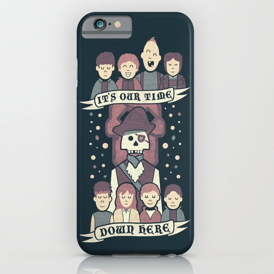 Down Here iPhone & iPod Case